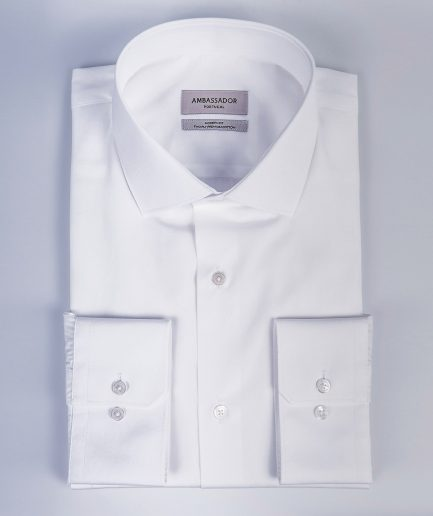 Modern-Fit-Spread-Collar-Shirt